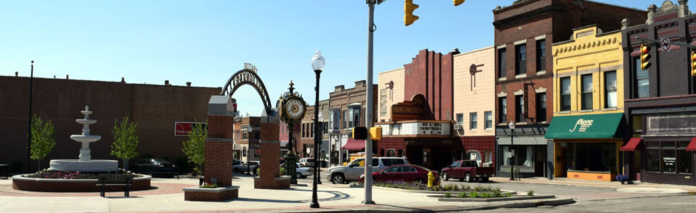 Downtown Huntington Indiana