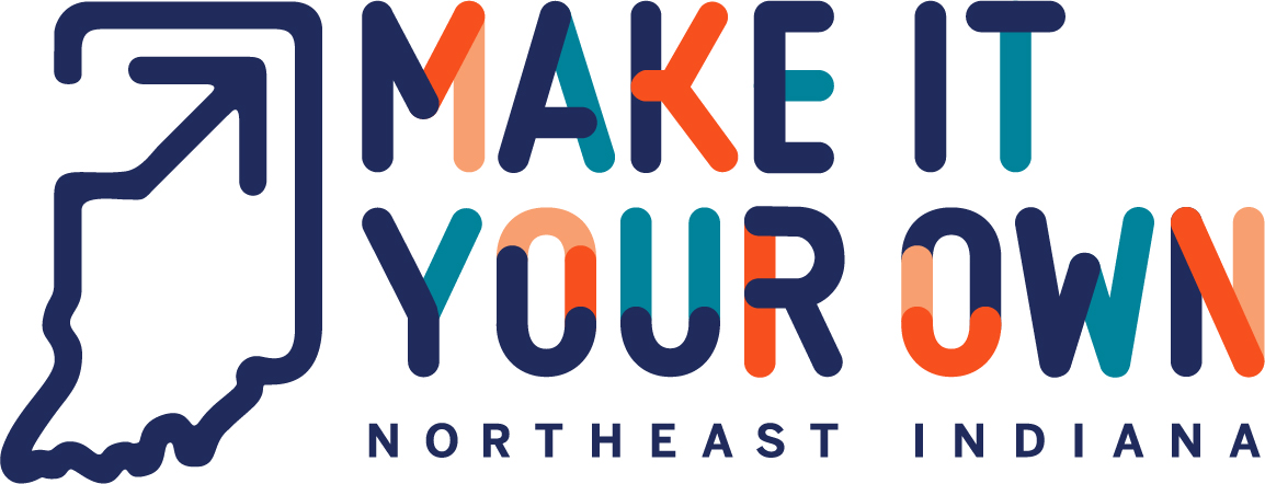 Make it your own northeast Indiana logo.